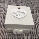 Shabby Personalised Chic Auntie Aunty Great Aunt Gift Trinket Box Jewellery Box - 232512174117